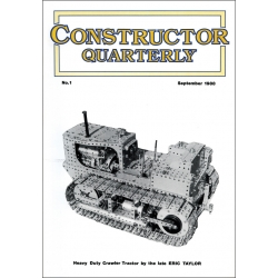 Constructor Quarterly Issue No. 01