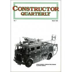 Constructor Quarterly Issue No. 07