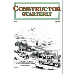 Constructor Quarterly Issue No. 8