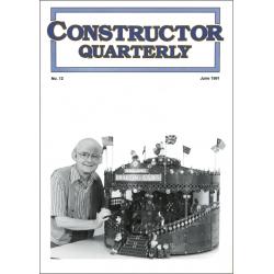 Constructor Quarterly Issue No. 12