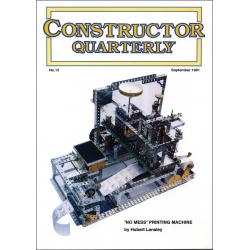 Constructor Quarterly Issue No. 13