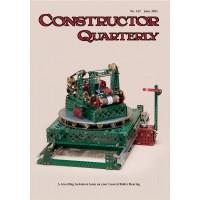 CONSTRUCTOR QUARTERLY ISSUE NO. 132